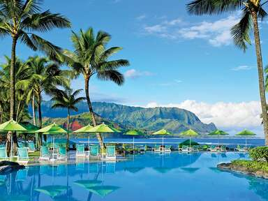The best spa getaways for your honeymoon; The St. Regis Princeville Resort in Kauai