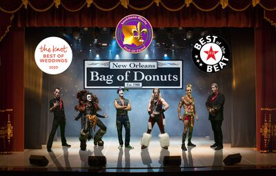 "Bag of Donuts  -- In The ""Louisiana Music Hall of Fame"""