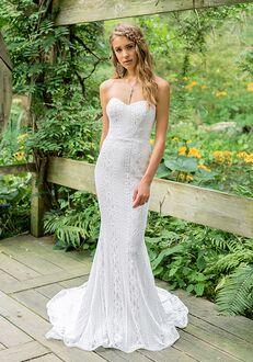 Lillian West 66018 Sheath Wedding Dress