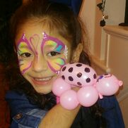 Lancaster, TX Face Painting | Bearry Cute Balloons & Awesome Face Painting