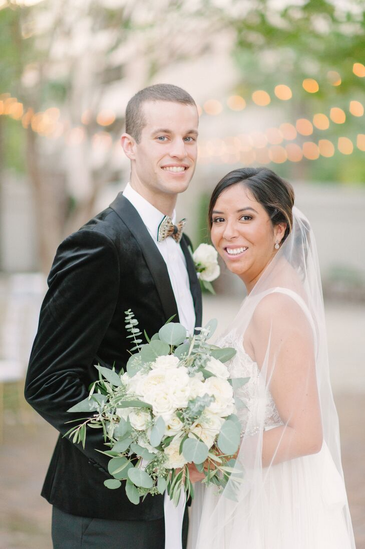 Jennifer and Ben were legally married exactly a year before their celebration at Gadsden House in Charleston, South Carolina.