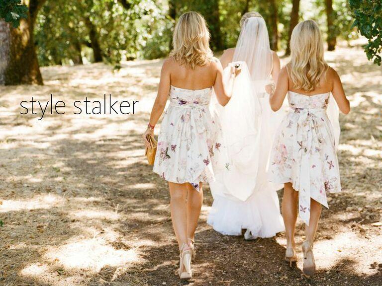 Fl Bridesmaid Dresses