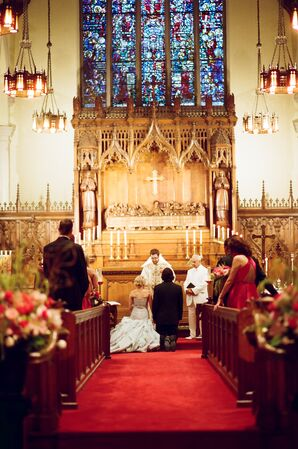 Ceremony at St. John the Evangelist Episcopal Church in St. Paul