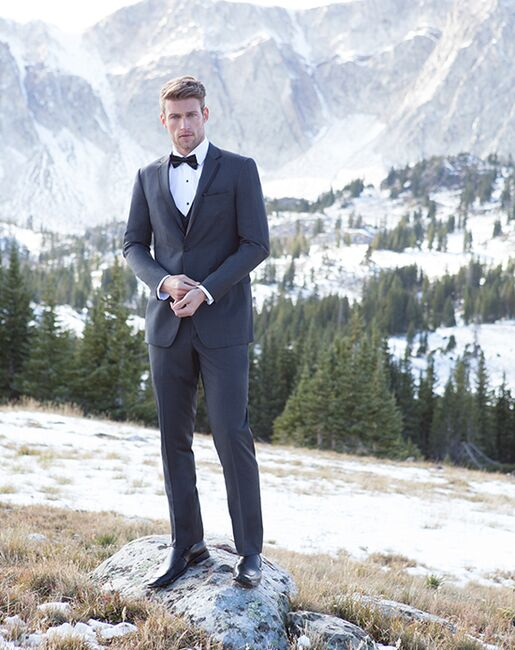 Allure Men Granite Tuxedo Gray Tuxedo