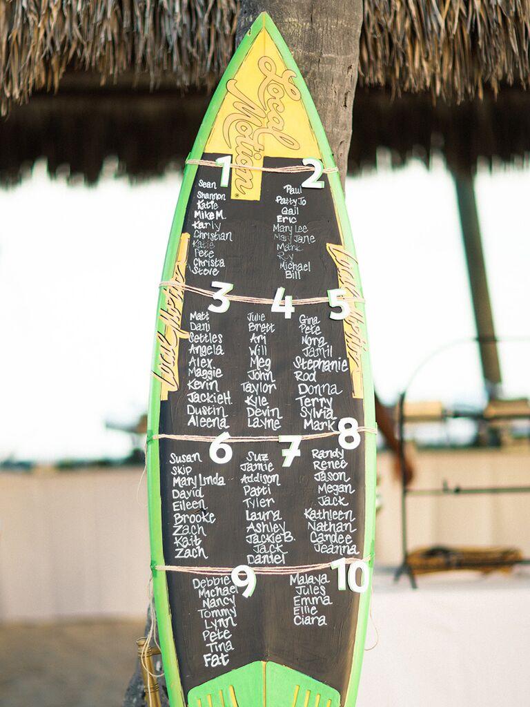 DIY beach-themed decoration ideas for wedding reception