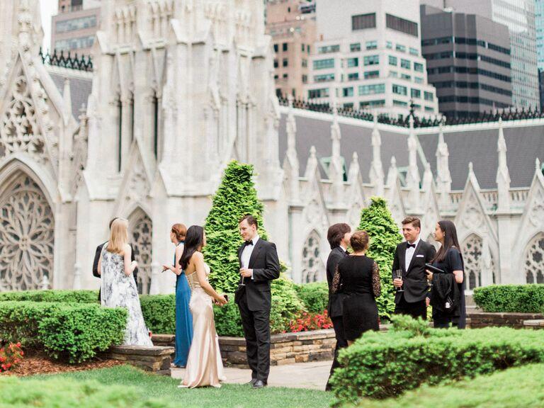 nyc rooftop garden wedding