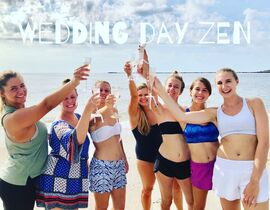 Wedding Day Zen Yoga