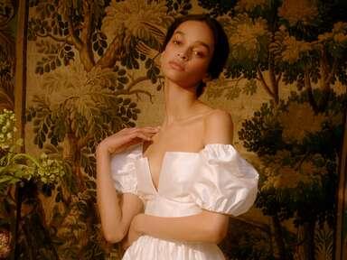 Markarian off-the-shoulder wedding dress