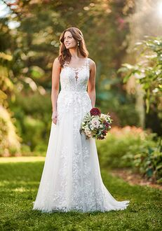 Essense of Australia D3177 A-Line Wedding Dress
