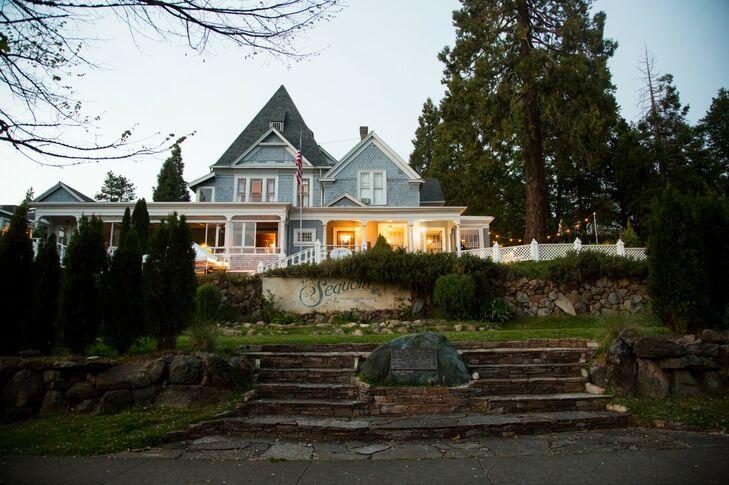 Sequoia Mansion Reception