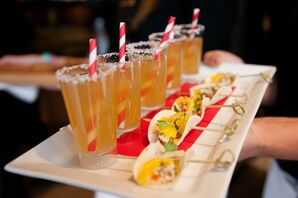 Festive Orange Cocktails