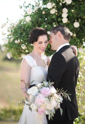 Elegant, Vintage-Inspired Bridal Updo