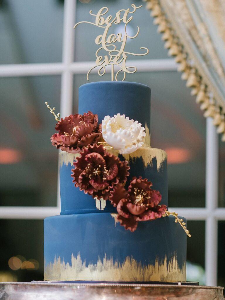 Sugar Flower Wedding Cakes 24 Unique Sugar Flower Wedding Cakes