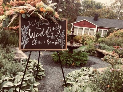 Olive and Twig Event Signs
