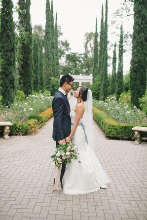 Elegant, Modern Garden Wedding