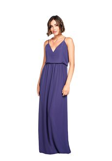 Khloe Jaymes DARBY V-Neck Bridesmaid Dress