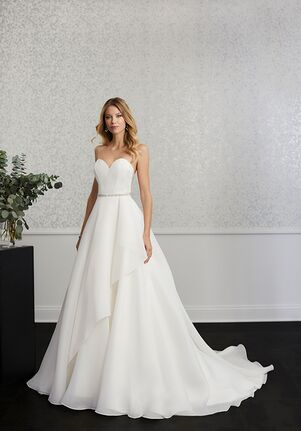 Adrianna Papell Platinum 31112 A-Line Wedding Dress