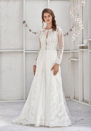 Lillian West 66040 Sheath Wedding Dress