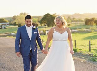 While Nicole and Rich tied the knot in California, the elegant and ethereal aesthetic of the day instantly transported guests to the beauty of Europe.