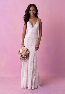 Allure Romance 3156 Sheath Wedding Dress