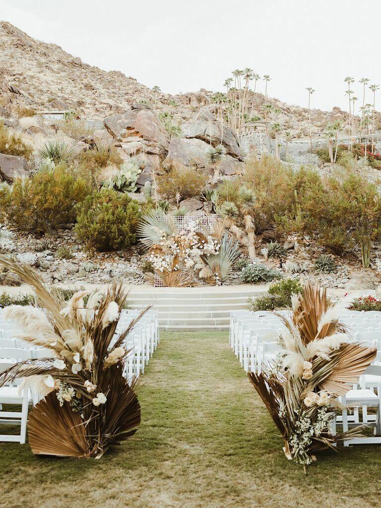 Fall wedding ideas dried florals