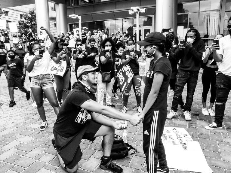 black lives matter proposal protest photo