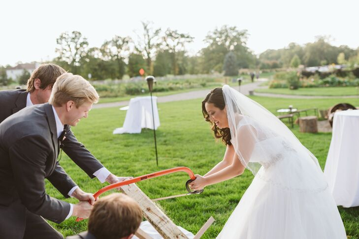 Austrian Log-Sawing Ceremony Tradition