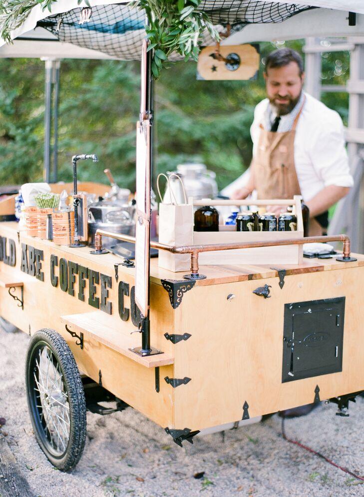 Traveling Coffee Bar Station