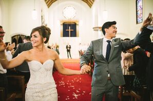 Megan and Ray Recessional at The North Chapel