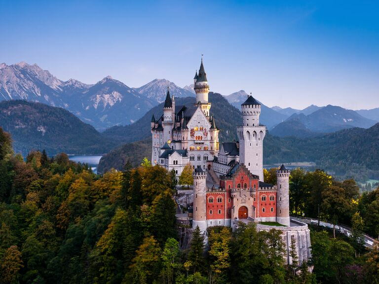 Castles to get married in.