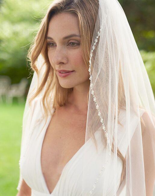 Dareth Colburn Lily Pearl Beaded Bridal Veil (VB-5062) Veil