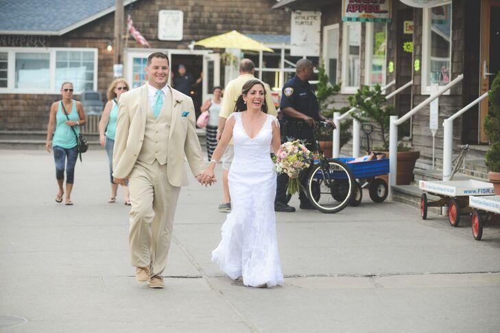Caitlin and Tom Fire Island Wedding Location