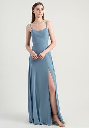 Jenny Yoo Collection (Maids) Kiara Scoop Bridesmaid Dress