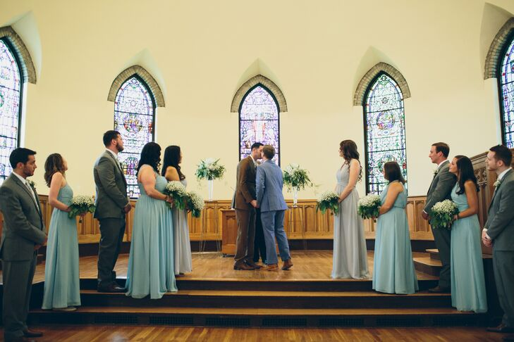 Same-Sex Ceremony at the Kumler Chapel