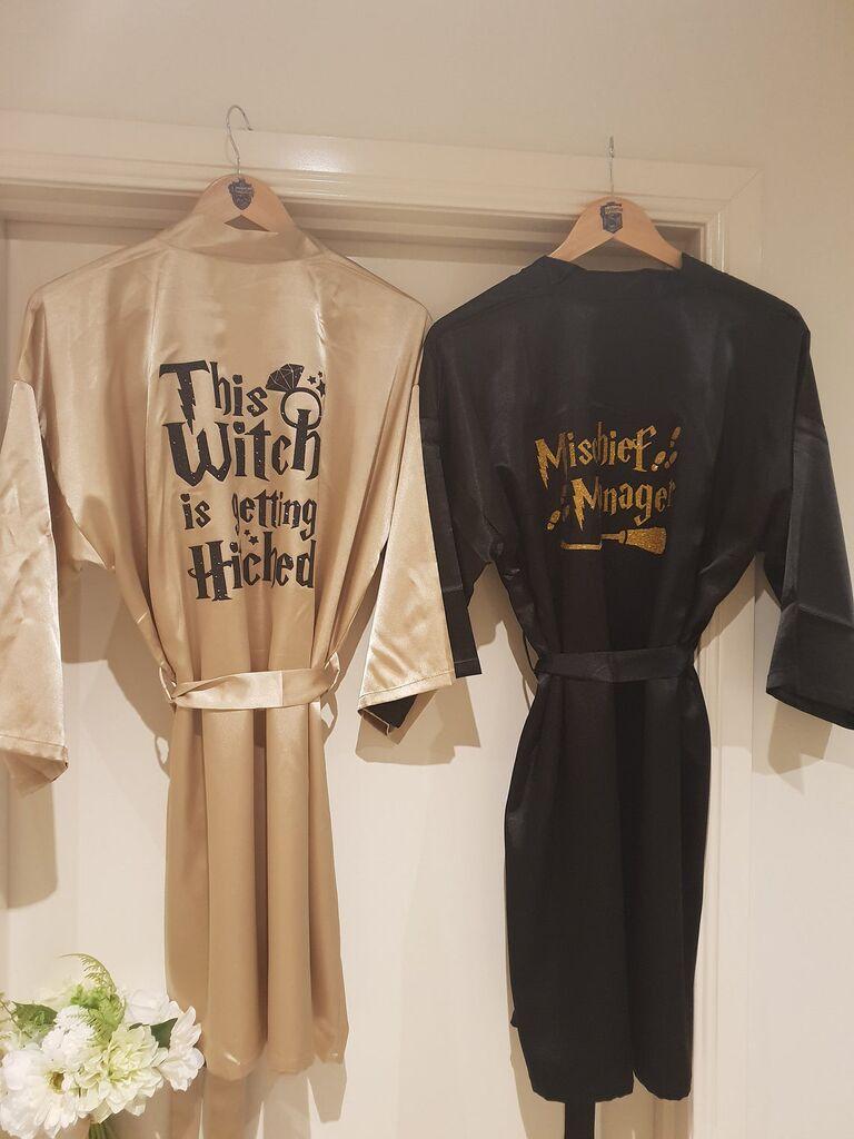 Harry potter bridal robe