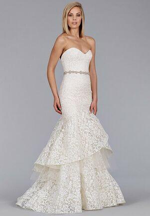 Jim Hjelm 8456 Mermaid Wedding Dress