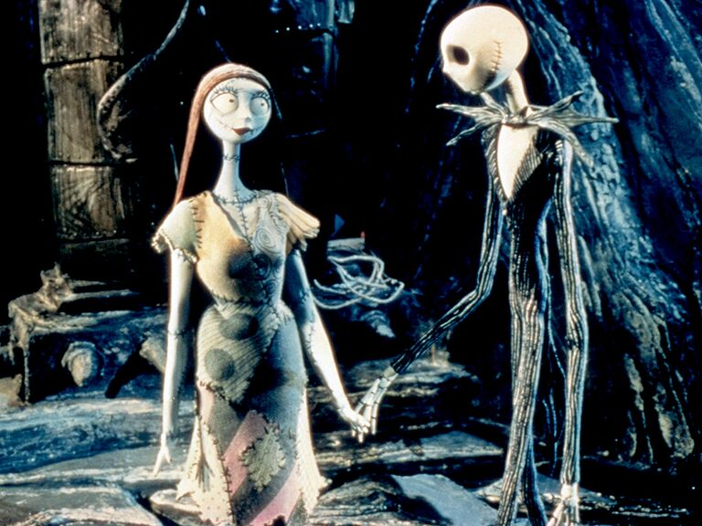 Jack Skellington and Sally famous disney couples