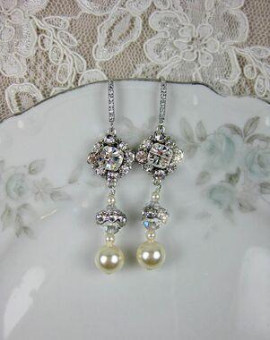 Everything Angelic Laisa Earrings - e362 Wedding Earring photo