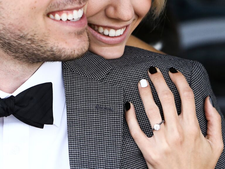 The Perfect Nail Polish Color to Show Off Your Engagement Ring