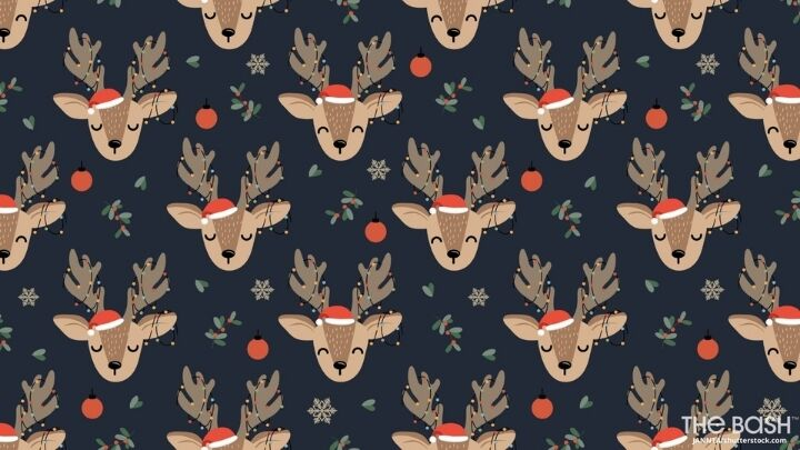 Cute Christmas Zoom Background