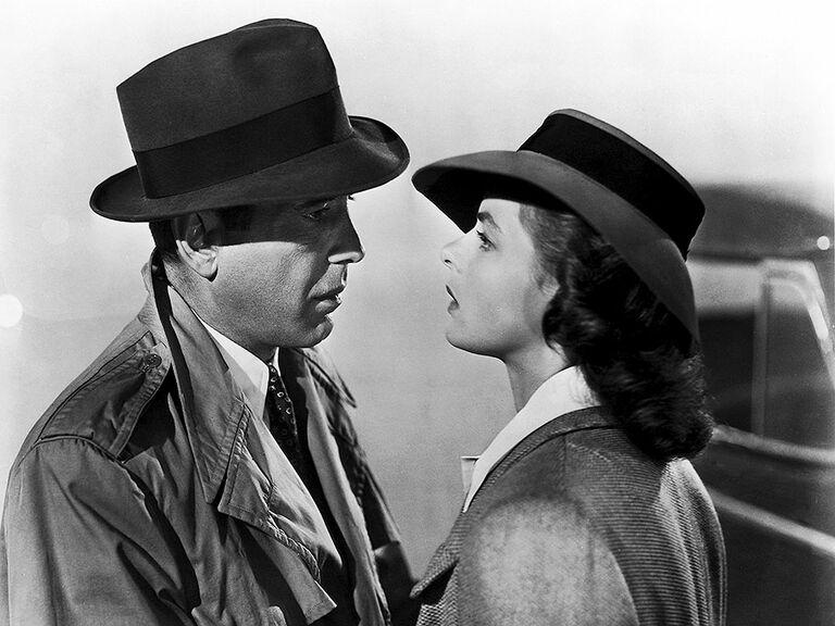 Casablanca famous movie couples