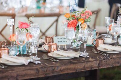Boston Rustic Wedding Rentals
