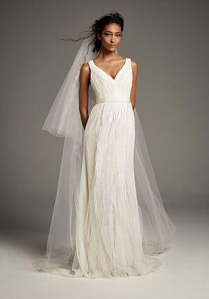 9909212255bc White by Vera Wang Vera Wang Style VW351448 Sheath Wedding Dress