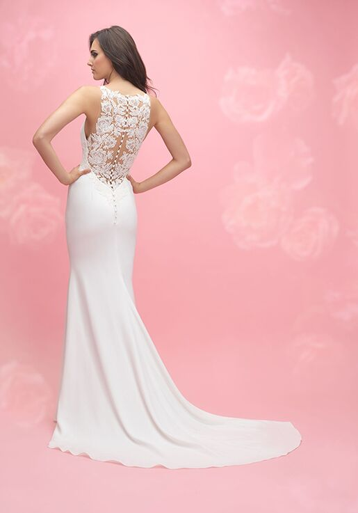 Allure Romance 3063 Sheath Wedding Dress