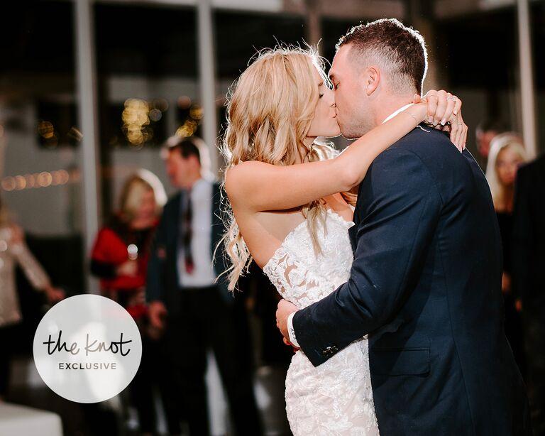 alex bregman wedding first dance kiss