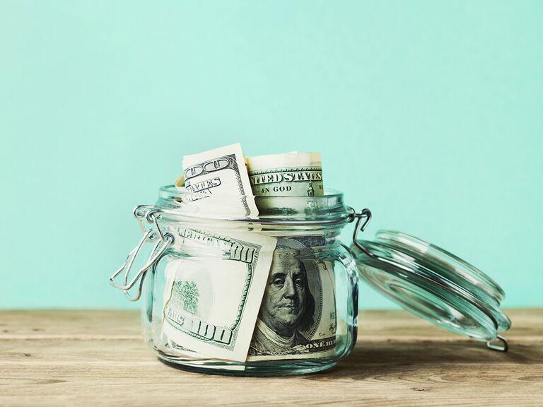 DIY money jar