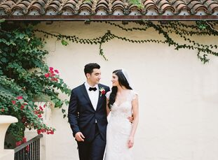 Inspired by the warmth and old-world elegance of Italian villas, Amanda Saviano and Jorge Benito filled their spring wedding at Villa Woodbine with a
