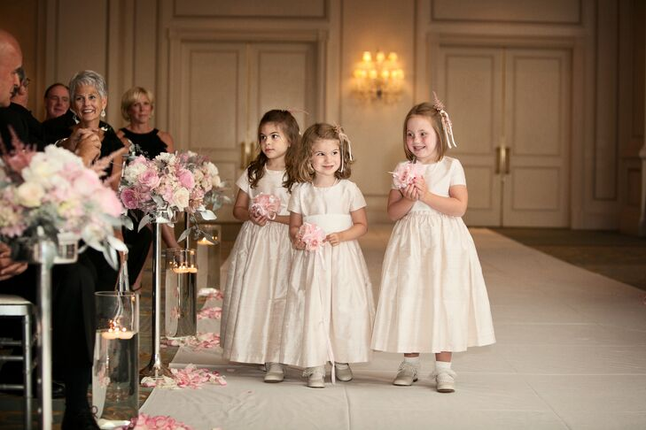 Blush Pink Flower Girl Dresses