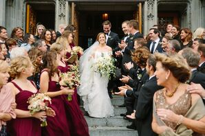 Elegant City Wedding, Catholic Ceremony
