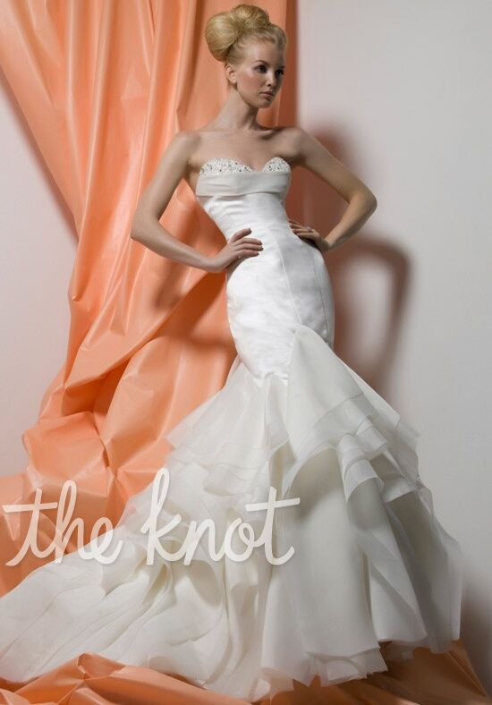 Lo ve la by liz fields wedding dresses 9226 wedding dress for Wedding registry the knot